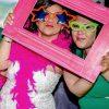 marco rosa photocall para fiestas