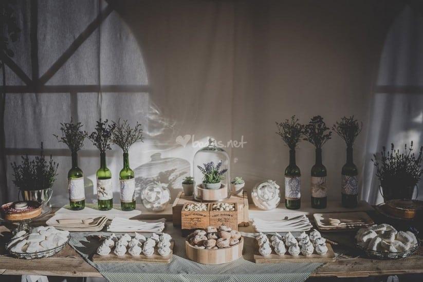 mesa dulce para bodas