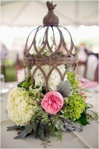 centro mesa boda candil