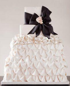 tarta nupcial blanca