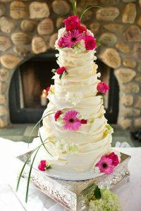tarta rústica con capas