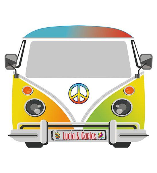 furgoneta hipie photocall