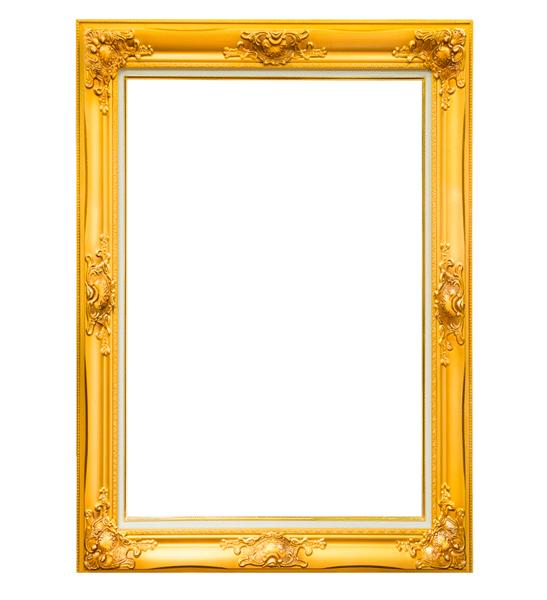 marco vintage dorado