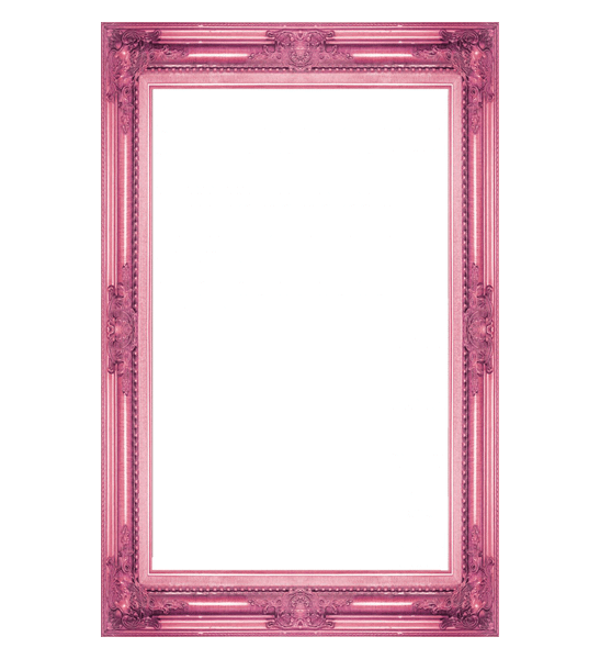 marco vintage rosa
