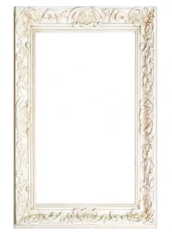 marco vintage blanco