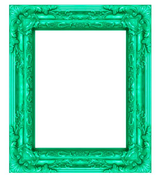 marco vintage verde