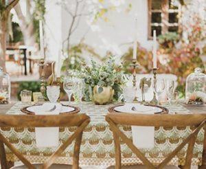 tendencias decoración boda